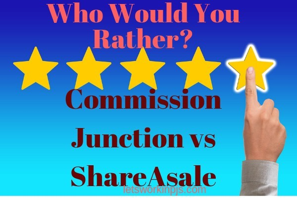 Shareasale vs commission junction Review